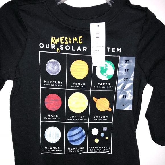f72bf834 Old Navy Shirts & Tops   Infant Solar System Tee   Poshmark
